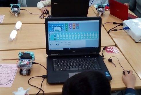山科 低学年 ロボット プログラミング